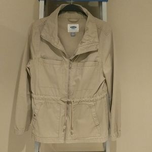 OLD NAVY Beige Jacket.  Small